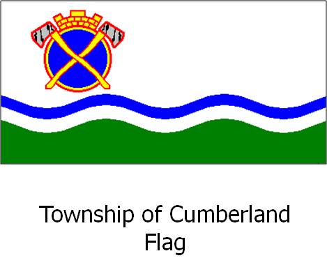 Township of Cumberland Flag